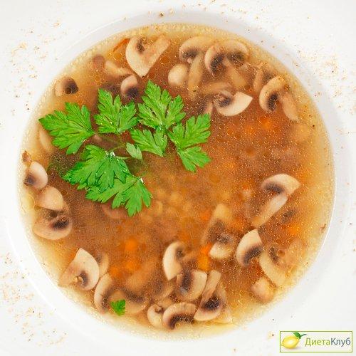 Грибной суп с сельдереем, рецепт с фото