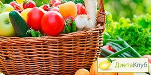 самые калорийные фрукты и овощи