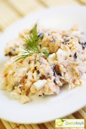 рыбный салат рецепт из горбуши с рисом и