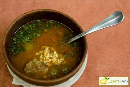 суп харчо рецепт без мяса с фото