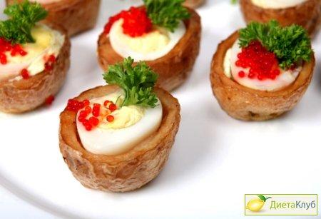 закуска из перепелиных яиц рецепт с фото
