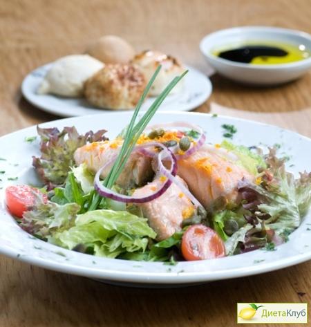 филе трески рецепты салатов
