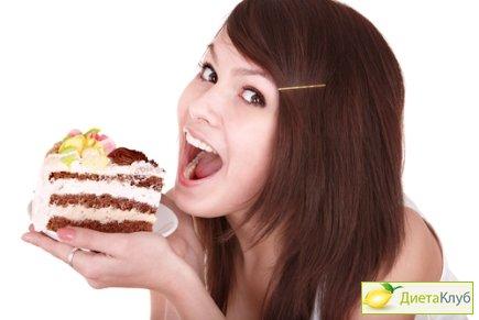 лишние калории