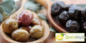 оливки, оливки полезные свойства