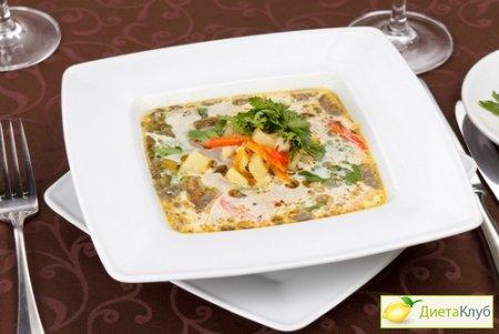 суп пюре из кабачков и капусты рецепт