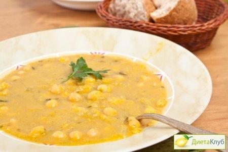 Гороховый суп на воде рецепт