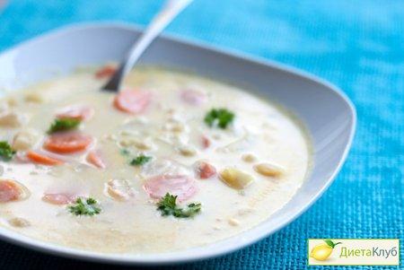 Как приготовить сырный суп-пюре?