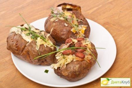 рецепты фаршированного картофеля мясом в духовке