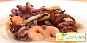 морепродукты, морепродукты польза