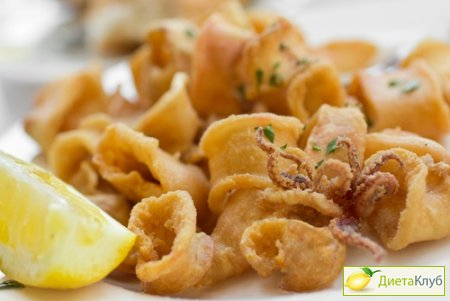 кальмары рецепт