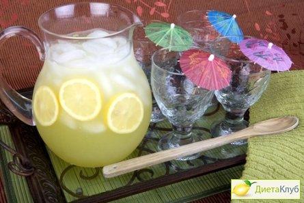 лимонад домашний, лимонад в домашних условиях