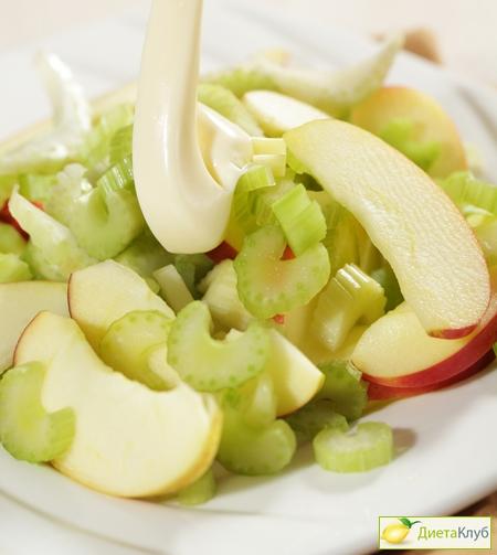 как приготовить салат из стеблей сельдеречтобы худеть
