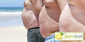 мужские диеты для похудения