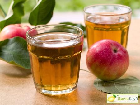 свежевыжатый яблочный сок польза